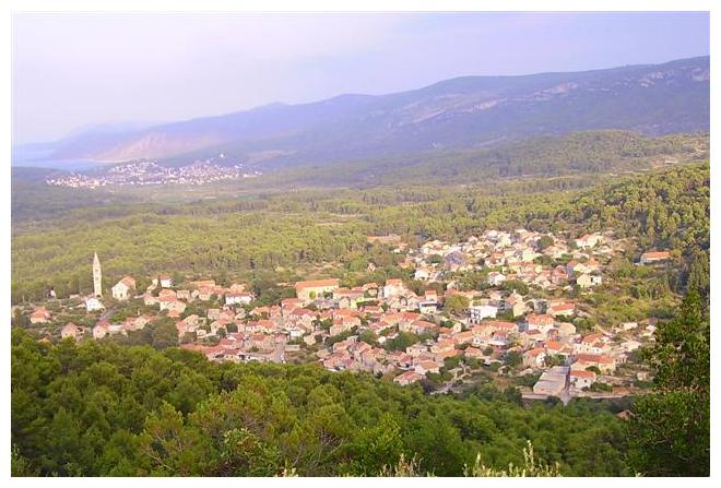 Vrbanj otok Hvar, about 4 km far from the sea, look google map, down on this page, Vrbanj , island Hvar, - Croatia